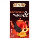 Big-Active Brzoskwinia & Morela Liściasta herbata czarna z kawałkami owoców 80 g