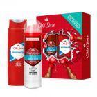 Old Spice zestaw podarunkowy antyperspirant Odor Blocker 125 ml + żel pod prysznic Whitewater 250 ml