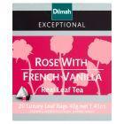 Dilmah Exceptional Czarna cejlońska herbata z aromatem róży i francuskiej wanilii 40 g (20 torebek)