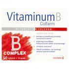 Colfarm Vitaminum B Complex Suplement diety 60 tabletek