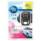Ambi Pur Car Flowers & Spring Samochodowy odświeżacz powietrza, zestaw startowy, 7ml