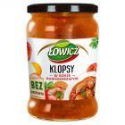 Łowicz Klopsy w sosie pomidorowym 580 g