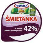 Piątnica Śmietanka do ubijania kremów i domowego masła 42% 200 ml