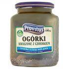 Provitus Ogórki kwaszone z czosnkiem 640 g