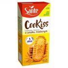 Sante Cookiss Ciasteczka zbożowe z masłem klarowanym Ghee 300 g (6 x 4 sztuki)