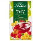 Bifix Premium malina z lipą Herbatka owocowa 40 g (20 saszetek)