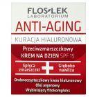 Floslek Laboratorium Anti-Aging Kuracja Hialuronowa Przeciwzmarszczkowy krem na dzień SPF 15 50 ml