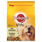 Pedigree Vital Protection Adult z drobiem & warzywami Karma pełnoporcjowa 2,6 kg