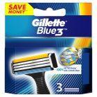Gillette Blue3 Ostrza wymienne do maszynki do golenia dla mężczyzn, 3 sztuki