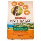 IAMS Naturally z nowozelandzką jagnięciną i ryżem Karma dla dorosłych kotów 2,7 kg