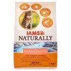 IAMS Naturally z północnoatlantyckim łososiem i ryżem Karma dla dorosłych kotów 2,7 kg