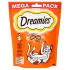 Dreamies Karma uzupełniająca dla kotów dorosłych i kociąt z pysznym kurczakiem 180 g