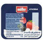 Müller Crema Jogurt czerwone owoce 125 g