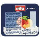 Müller Crema Jogurt brzoskwinia 125 g