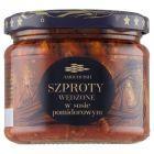 Amberfish Szproty wędzone w sosie pomidorowym 280 g