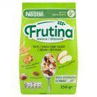 Nestlé Frutina Owoce i Błonnik Płatki z pełnego ziarna pszenicy z jabłkami i rodzynkami 250 g