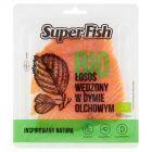 SuperFish Bio Łosoś wędzony na zimno 100 g