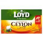 Loyd Ceylon Herbata czarna aromatyzowana 100 g (50 torebek)