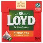 Loyd Herbata czarna aromatyzowana o smaku owoców cytrusowych 34 g (20 torebek)