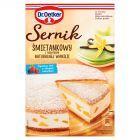 Dr. Oetker Sernik śmietankowy z dodatkiem naturalnej wanilii 390 g