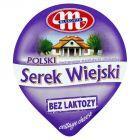 Mlekovita Polski Wiejski bez laktozy Serek twarogowy ziarnisty ze śmietanką 180 g