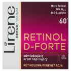 Lirene Retinol D-Forte 60+ Odmładzający krem napinający na dzień 50 ml