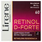 Lirene Retinol D-Forte 60+ Ujędrniający krem dermo-regenerujący na noc 50 ml