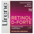 Lirene Retinol D-Forte 70+ Liftingujący krem rozjaśniający na dzień 50 ml