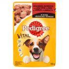 Pedigree Vital Protection z wołowiną i jagnięciną w sosie Karma pełnoporcjowa 100 g