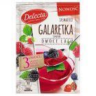 Delecta Galaretka smak owoce lasu 75 g