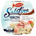 GRAAL Salatino Tuńczyk z dzikim ryżem imbirem i czerwoną papryką 160 g