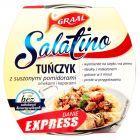 GRAAL Salatino Tuńczyk z suszonymi pomidorami oliwkami i kaparami 160 g