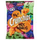 Crunchips Mc Hot Wings Chipsy ziemniaczane 140 g