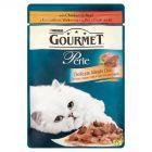 Gourmet Perle Delikatny Mięsny Duet z kurczakiem i wołowiną Karma dla kotów 85 g