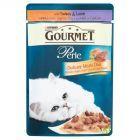Gourmet Perle Delikatny Mięsny Duet z indykiem i jagnięciną Karma dla kotów 85 g