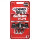 Gillette Blue3 Jednorazowe Maszynki Do Golenia Dla Mężczyzn, 3 sztuki