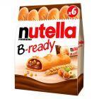 Nutella B-ready Wafelek z orzechami laskowymi i kakao oraz chrupkami 6 x 22 g