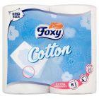 Foxy Cotton Papier toaletowy 4 rolki