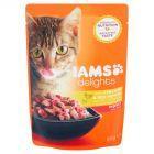 IAMS Delights z kurczakiem i czerwoną papryką w galaretce Karma dla dorosłych kotów 85 g