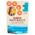 IAMS Naturally z oceanicznym dorszem w sosie Karma dla dorosłych kotów 85 g