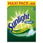 Sunlight Classic Tabletki do zmywarki 627g (66 sztuk)