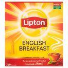 Lipton English Breakfast Herbata czarna 200 g (100 torebek)