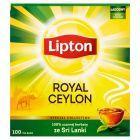 Lipton Royal Ceylon Herbata czarna 200 g (100 torebek)