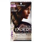 Schwarzkopf Color Expert Farba do włosów 4.0 Chłodny brąz