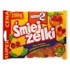 nimm2 Śmiejżelki Żelki owocowe wzbogacone witaminami 250 g