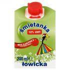 Łowicz Śmietanka łowicka UHT 12% bez laktozy 200 ml