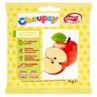 Crispy Natural Chrupsy Suszone chipsy z jabłka z przecierem bananowym 18 g