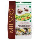 Mieszko Michaszki Junior Cukierki w czekoladzie z orzeszkami arachidowymi 260 g
