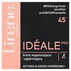 Lirene Idéale Pro 45+ Krem wypełniająco-ujędniający na noc 50 ml
