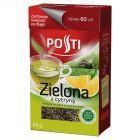 Posti Zielona z cytryną Herbata liściasta aromatyzowana 80 g